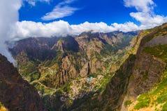 Paesino di montagna in Madera Portogallo immagini stock