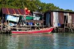 Paesino di pescatori Immagini Stock