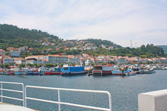 Paesino di pescatori. Fotografie Stock