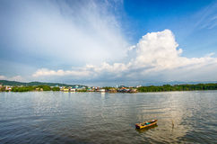 Paesino di pescatori Fotografie Stock Libere da Diritti
