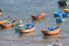Paesino di pescatori del Ne del Vietnam Mui Fotografie Stock