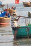 Paesino di pescatori del Ne del Vietnam Mui Fotografie Stock Libere da Diritti