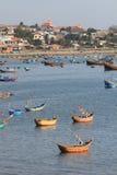 Paesino di pescatori del Ne del Vietnam Mui Fotografia Stock
