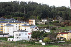 Paesino di pescatori (Viveiro, Spagna) Fotografia Stock