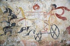 Paestum,意大利 库存图片
