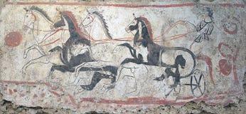 Paestum,意大利 免版税库存照片