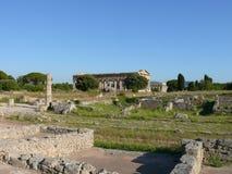 Paestum Imagen de archivo