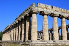 Paestum en Italie Image libre de droits