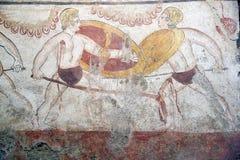 Paestum Italien Royaltyfri Fotografi