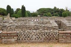 Paestum, Italy Royalty Free Stock Photo