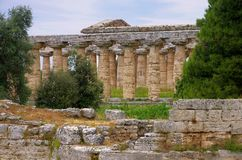 Paestum Royalty Free Stock Photo