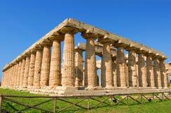 Paestum Tempel Stockfotografie