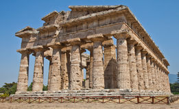 Paestum temple - Italy Stock Photos