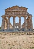 Paestum temple - Italy Stock Image
