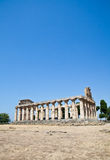 Paestum temple - Italy Stock Photo