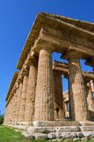 Paestum Temples royalty free stock photography