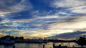 PAFB-Sonnenuntergang Stockbilder