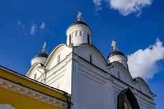 Pafnutevo-Borovsky Monastery, Cathedral of the Nativity of the Blessed Virgin royalty free stock photography