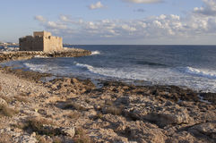 Pafos castle Stock Image