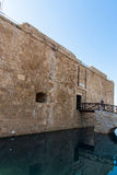Pafos Castle on water Royalty Free Stock Image