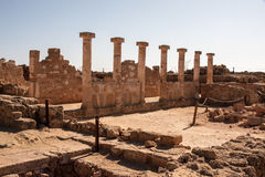 Pafos Mosiacs Royalty Free Stock Images
