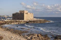 Pafos slott arkivfoto