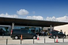 Pafos terminal Royalty Free Stock Photography