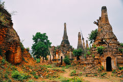 Pagód ruiny w Myanmar Obraz Stock