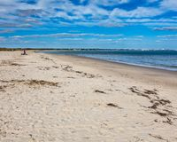 Pagórek Plażowy Dorset Anglia UK obraz stock