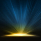 Pagórka światło obrazy stock