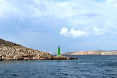 Pag-ö i Kroatien Royaltyfria Bilder