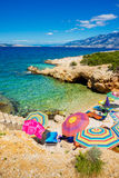 Pag, Adriatic sea Stock Image