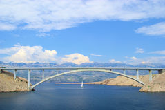 PAG-Brücke Stockbild