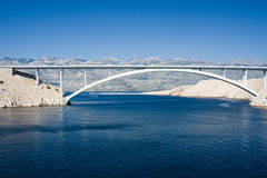 Pag bridge Stock Photography