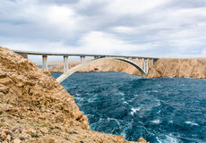 Pag bridge Royalty Free Stock Photos