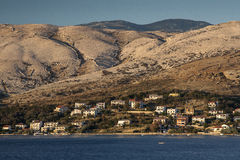 Pag. Island of Pag in Croatia in the summer Royalty Free Stock Photos