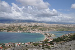 Pag, Kroatien Royalty Free Stock Photos