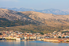 Pag, landscapes in Croatia Stock Photo