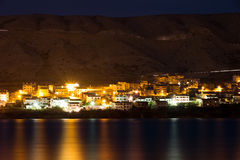 Pag at night Stock Image