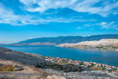 Pag town Royalty Free Stock Images
