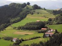 Paga o basque Fotografia de Stock Royalty Free