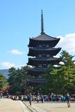 Pagada in Nara lizenzfreies stockfoto