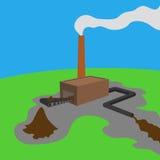 pagaille environnementale Image libre de droits