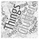 Pagaille et chaos deux choses qui peuvent te donner l'énorme fond de concept de nuage de mot de concept de nuage de mot d'effort illustration libre de droits