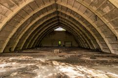 Pagaille sur le toit Pièce foncée Pièce sombre photo libre de droits