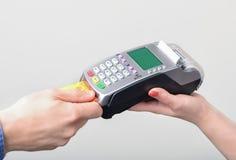 Pagamento com cartão de crédito imagem de stock royalty free