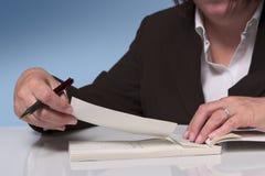 Pagamento con l'assegno 2 Fotografia Stock Libera da Diritti