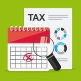 Pagamento de imposto Imagem de Stock