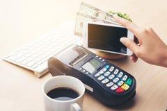 Pagamento móvel, imagens de stock