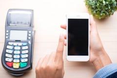 Pagamento móvel, fotos de stock